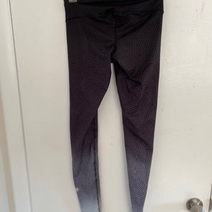 Dark to light ombré leggings